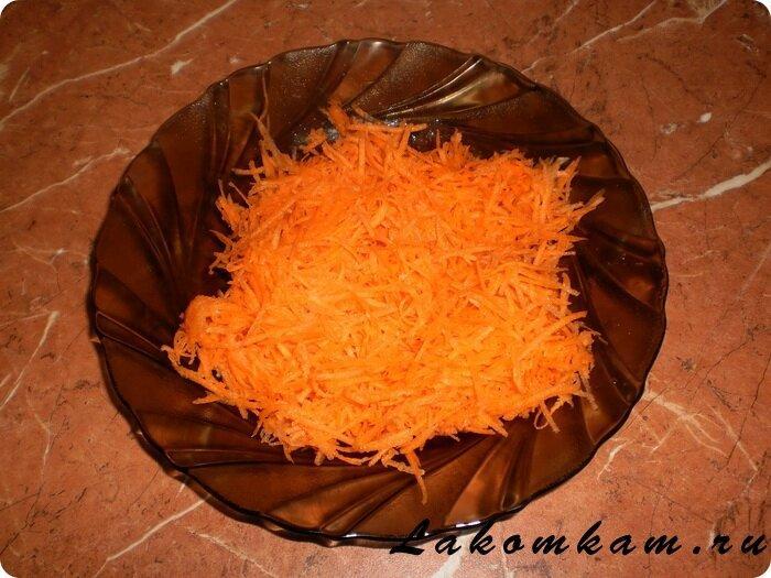 Морковные котлеты с манкой