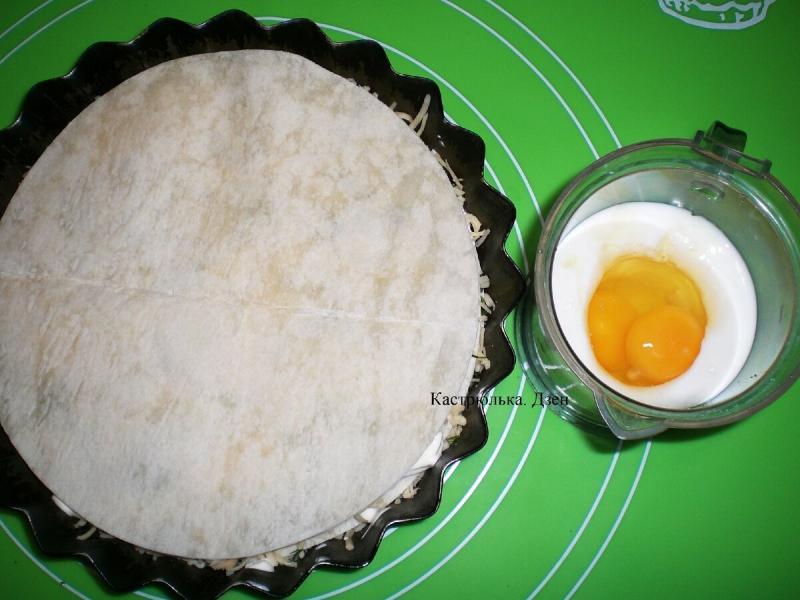 Ну, очень ленивый пирог из лаваша
