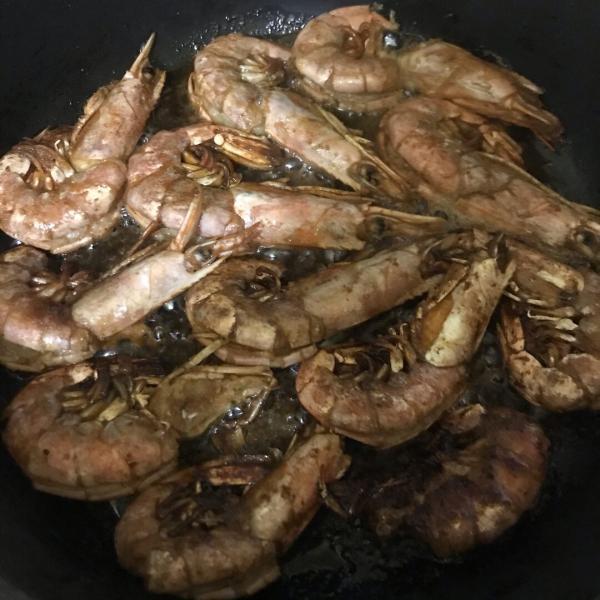 Первый раз готовила эти креветки. Спасибо повару за советы 👨🍳