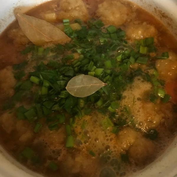 Сердечные фрикадельки и суп с маскировкой лука 😎