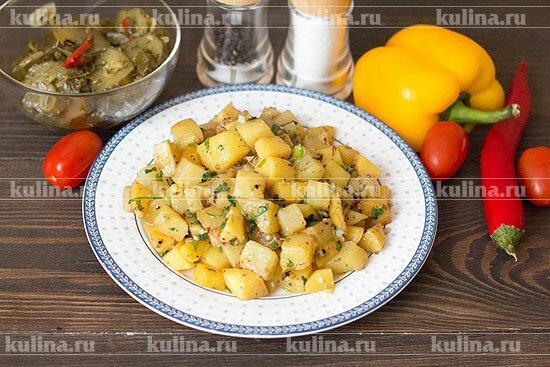 Жареная картошка: готовим вкусно и просто