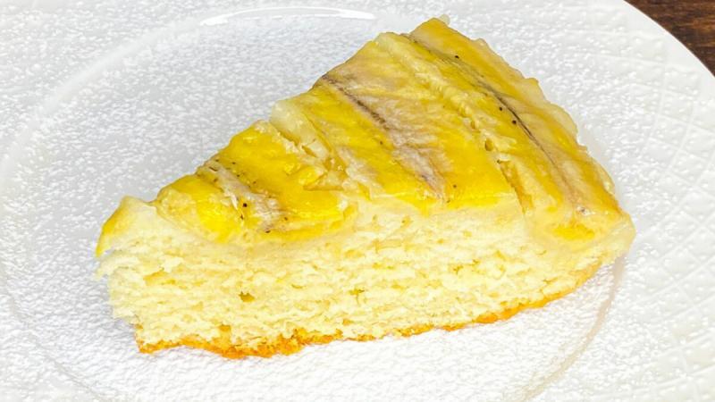 Банановый пирог, который тает во рту.