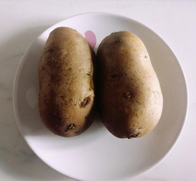 Картофель с мясом и сыром запеченный в духовке