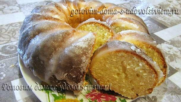 Кекс творожный - готовить просто, вкус потрясающий