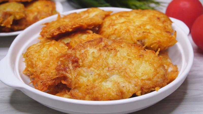 Курица в картофельной соломке