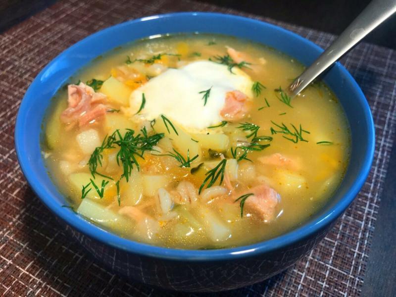 Настоящий суп рассольник с перловкой - очень быстрый рецепт