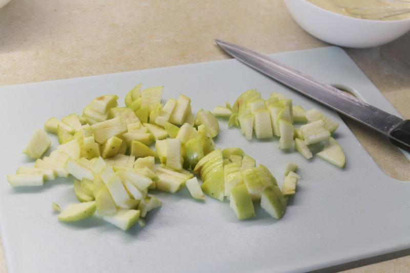 Съели за 5 секунд! Яблочный пирог на сковороде