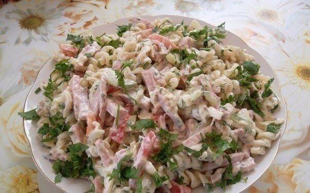 """Сочный и нежный салат -""""Итальянский"""""""