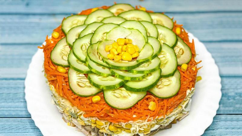 Волшебно-вкусный салат, который покорит всех: съедается первым.
