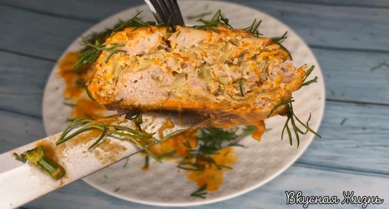 Вот что можно приготовить на ужин. Очень простой и вкусный рецепт.
