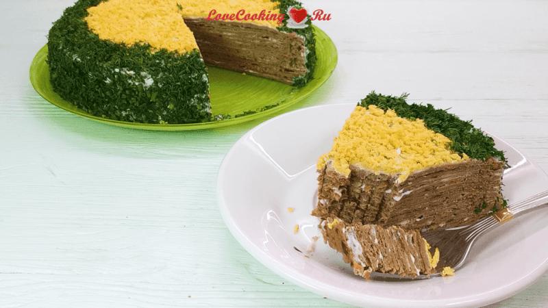 Нежнейший печеночный торт - вкуснее вы не ели!