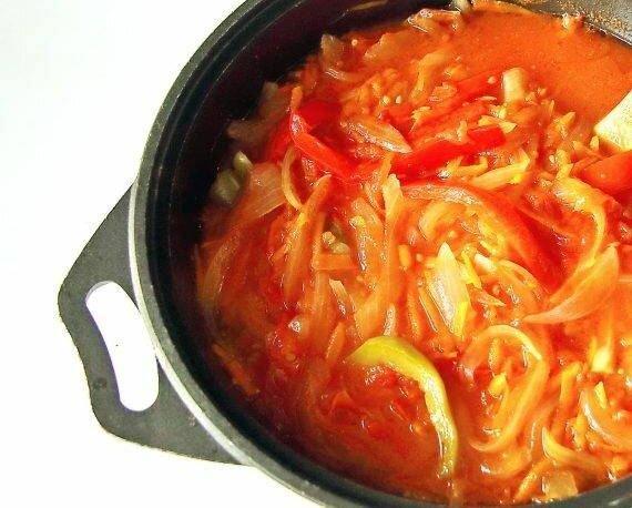"""Салат """"Парамониха"""" на зиму с очень вкусным маринадом"""