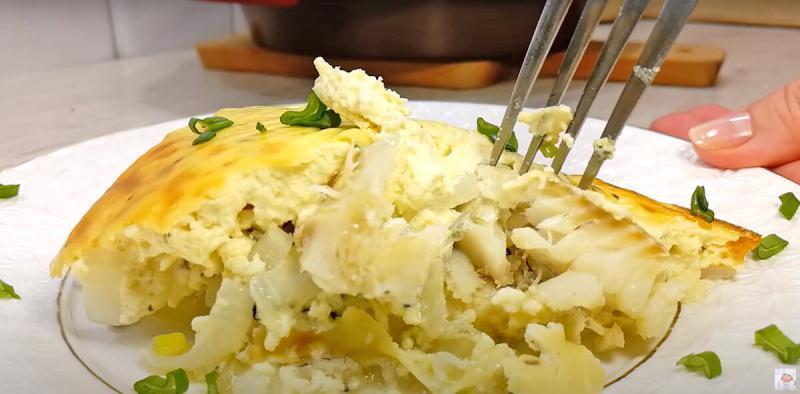 Ужин, который можно даже вечером! Минтай под соусом в духовке.