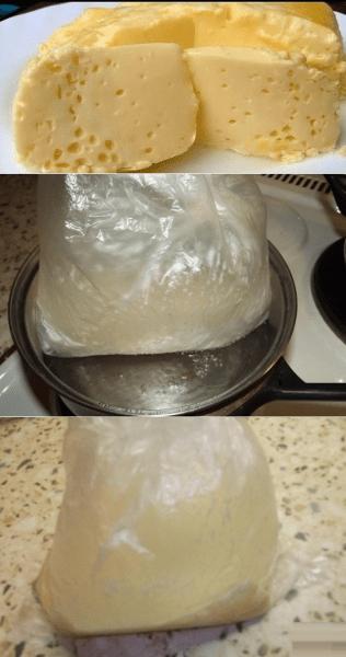 """""""Варёный омлет в пакете""""- по вкусу напоминает сливочный сыр"""