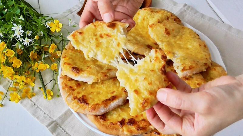 Быстрые Супер Сырные Лепёшки в духовке!