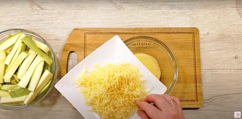 Как я готовлю хрустящую закуску из кабачков 👩🍳