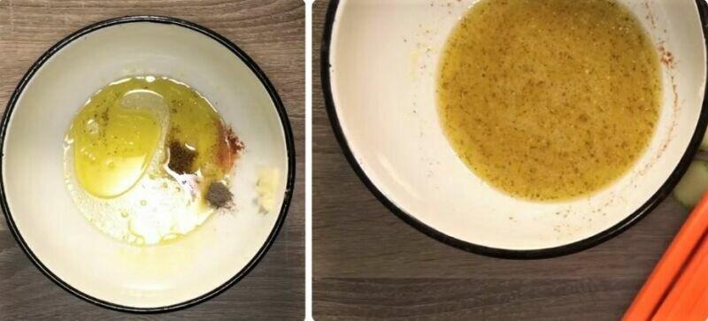 Острая закуска из свежих кабачков - похрустите с удовольствием