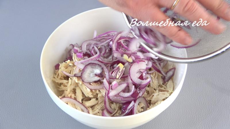 Салат из 3-х ингредиентов на праздничный стол