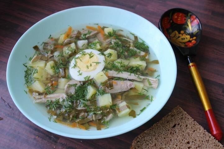 Щавелевый суп - самое время приготовить, ведь сейчас сезон щавеля.