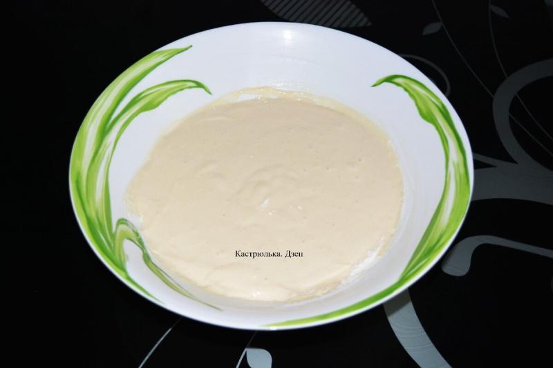 Заливной пирог на скорую руку