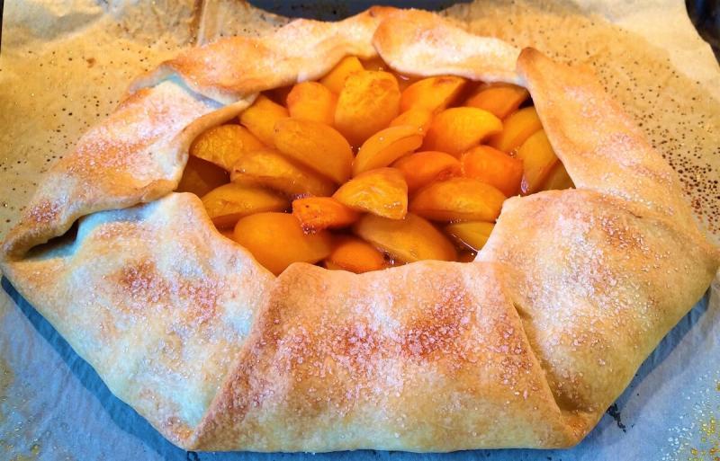 Галета с абрикосами