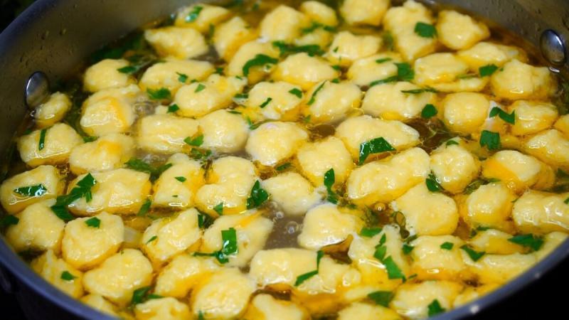 Как я готовлю необычно Суп с клецками. Делюсь любимым способом