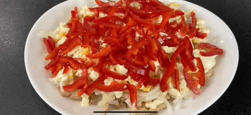 Обалденный, вкусный салат из баклажанов