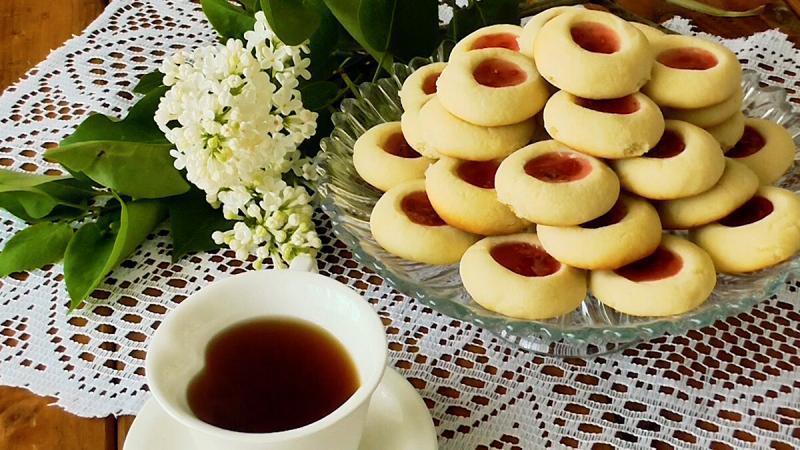 Простое Песочное Печенье к чаю!Пошаговый рецепт