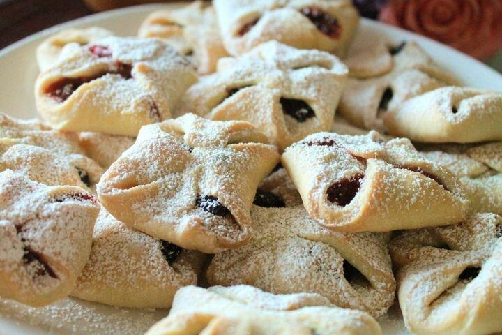 Самое простое и быстрое домашнее печенье на сметане
