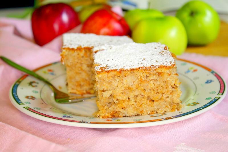 Самый вкусный яблочный пирог из тех, что я вообще в жизни ела
