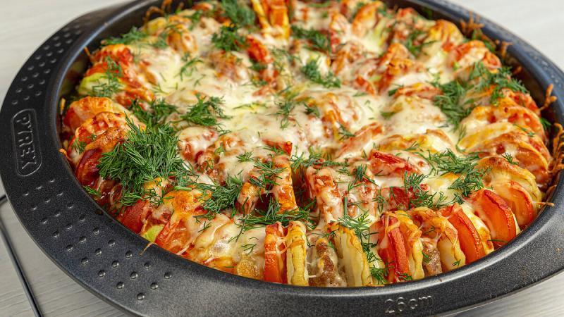Вкусный, яркий обед или ужин для всей семьи