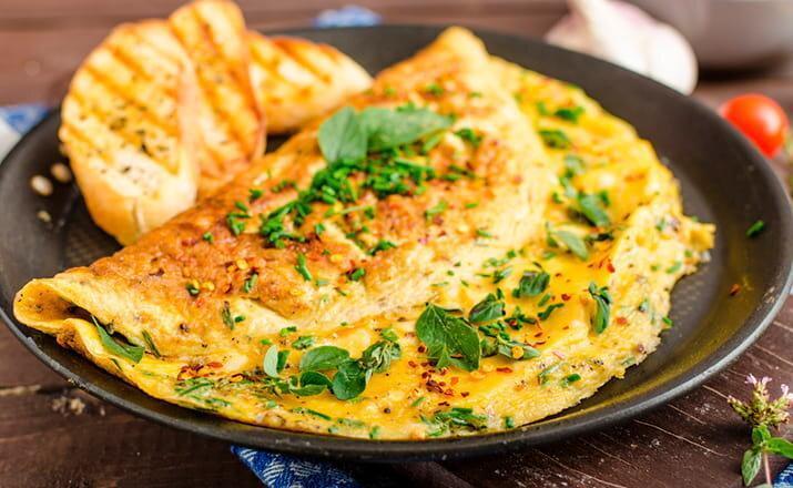 Ароматные Сырные Лепешки, на скорую руку | #полезный завтрак