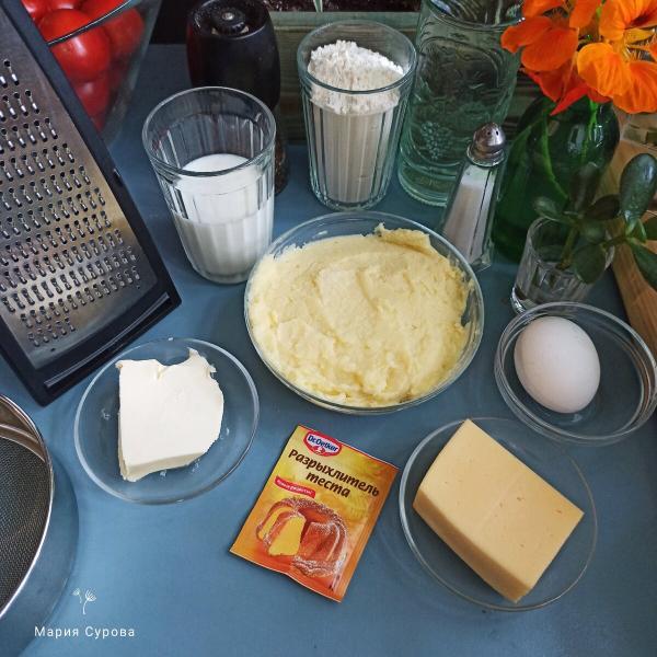 Булочки из картофельного пюре. Простой рецепт.