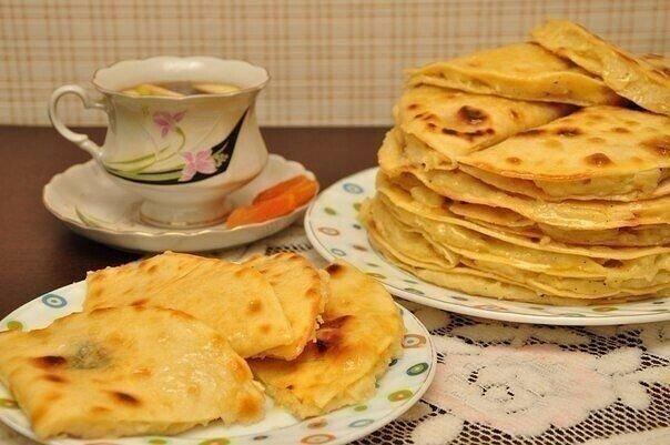 Готовлю татарские лепёшки