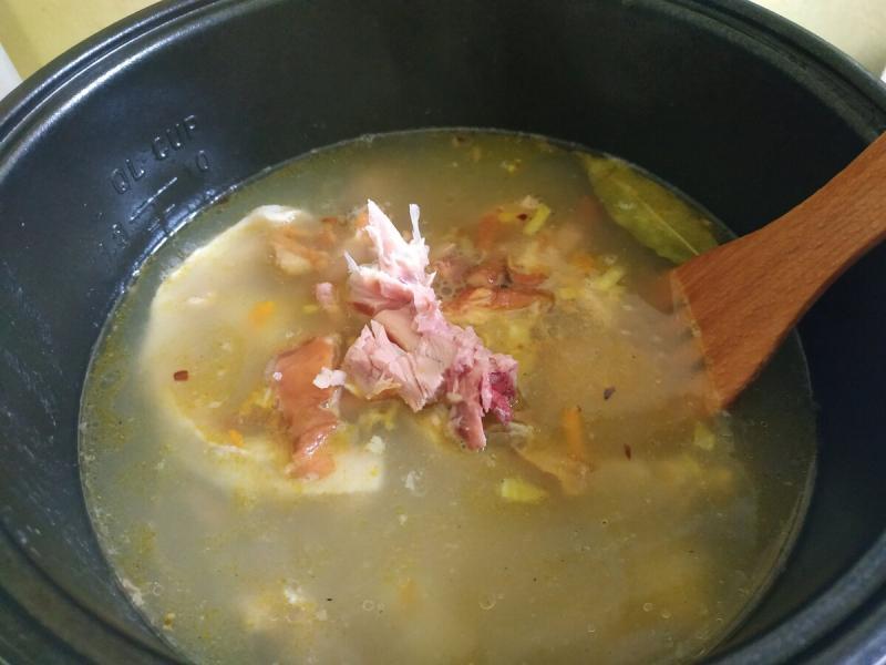 Как я готовлю гороховый суп!