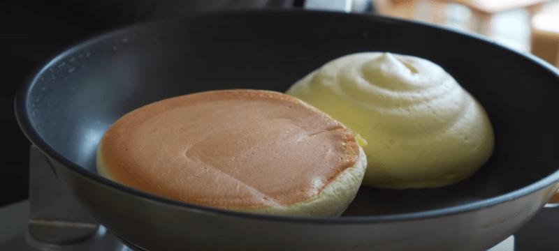 Как сделать пышные панкейки - японские оладушки
