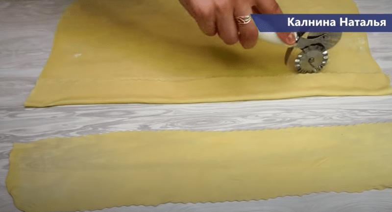 Ленивые манты «Розочки» на сковороде в соусе