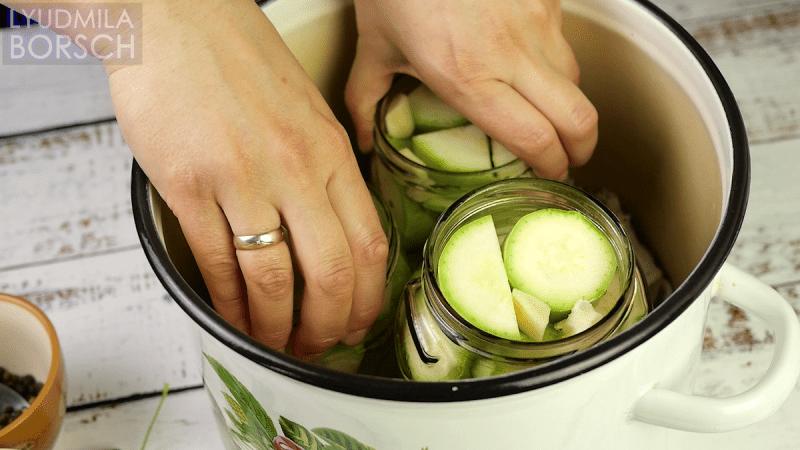 Маринованные КАБАЧКИ на зиму. Вкусный простой рецепт.