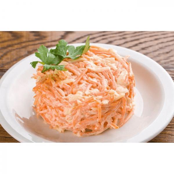 Морковно-чесночный салат