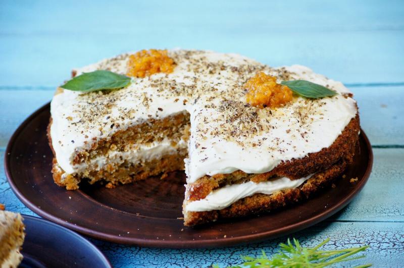 Морковный торт в домашних условиях, это проще пареной репы