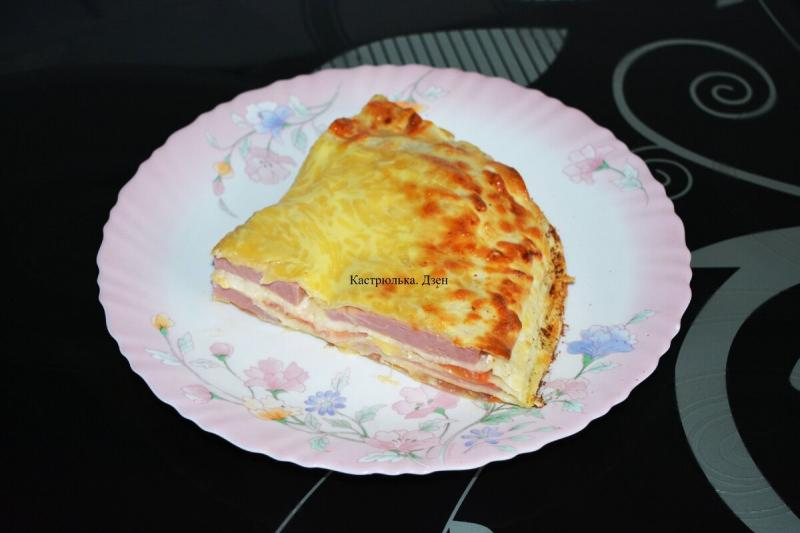 Пирог-запеканка из лаваша, в духовке – сытно, просто, вкусно