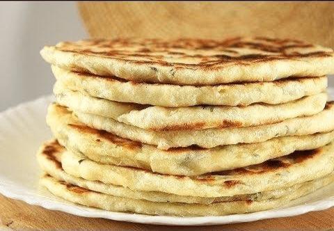 Сырные лепешки на сковородке