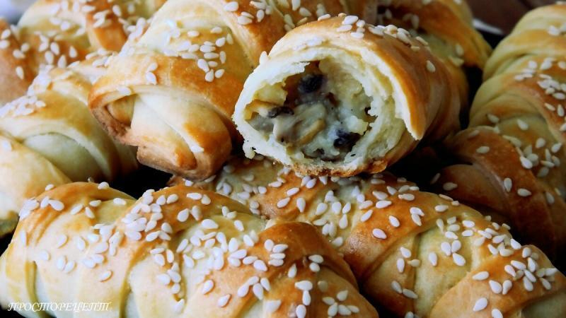 Быстрые Пирожки на Кефире! Вкусно и красиво!