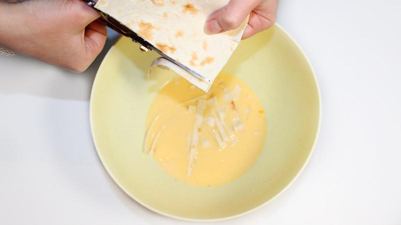 Быстрый и вкусный завтрак из лаваша. Рецепт для ленивых!