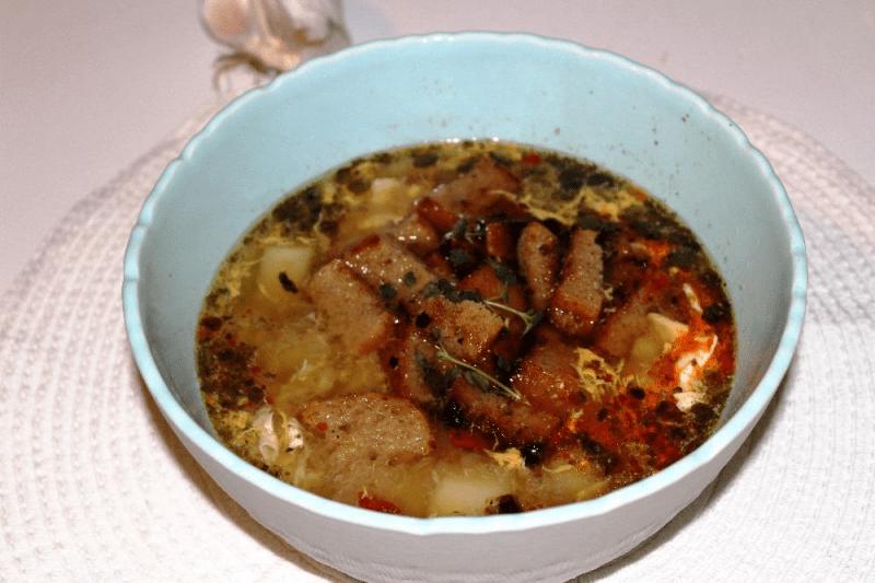 Быстрый, необычный и очень вкусный чешский суп: чеснэчка