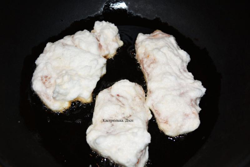 Куриное филе в нежнейшей белковой «шубке» – лучше любого кляра