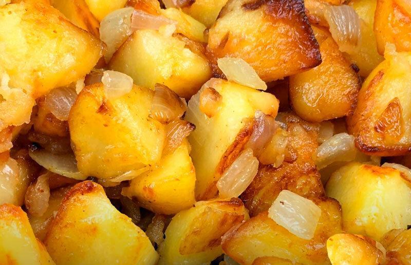 Лучший рецепт жареной картошки
