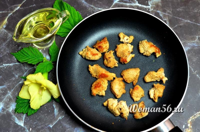 Маффины с курицей и сыром! Рецепт. Много фото.