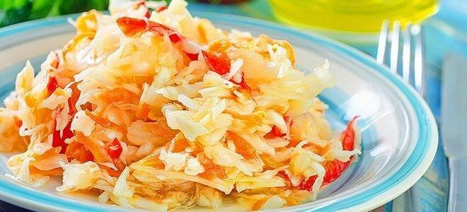 Отменный рецепт капусты в маринаде
