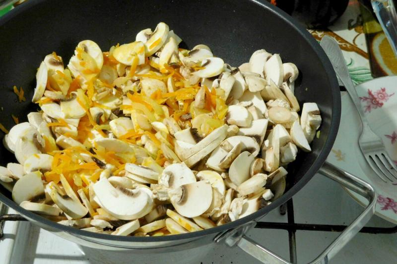 Паштет из грибов, который можно готовить круглый год!